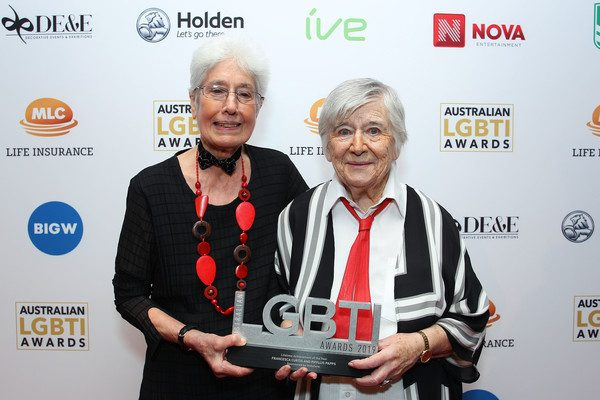 Lifetime Achievement Awards Winners Francesca Curtis and Phyllis Papps