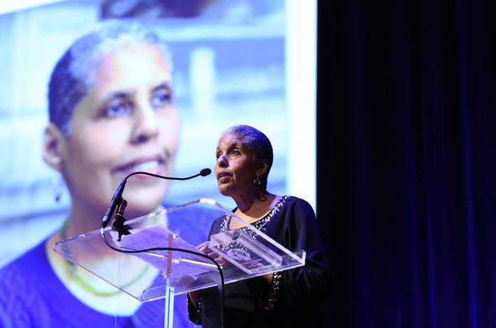 Barbara Smith was awarded with the Publishing Professional Award