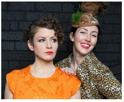 Eleanor Ryan (left) as Crystal Allen