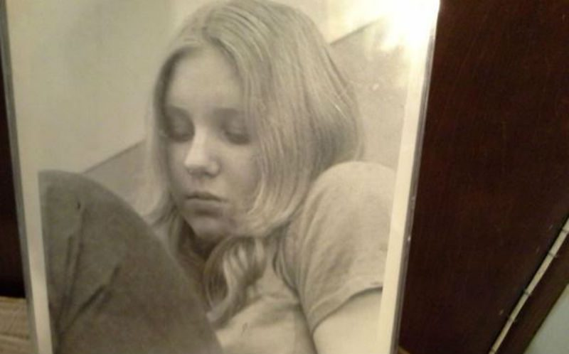Victoria Brownworth at 15 years old