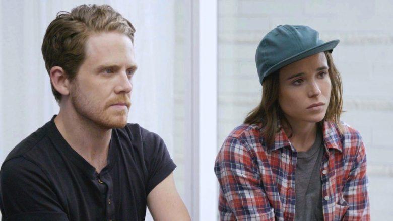 Ellen Page and Ian Daniel