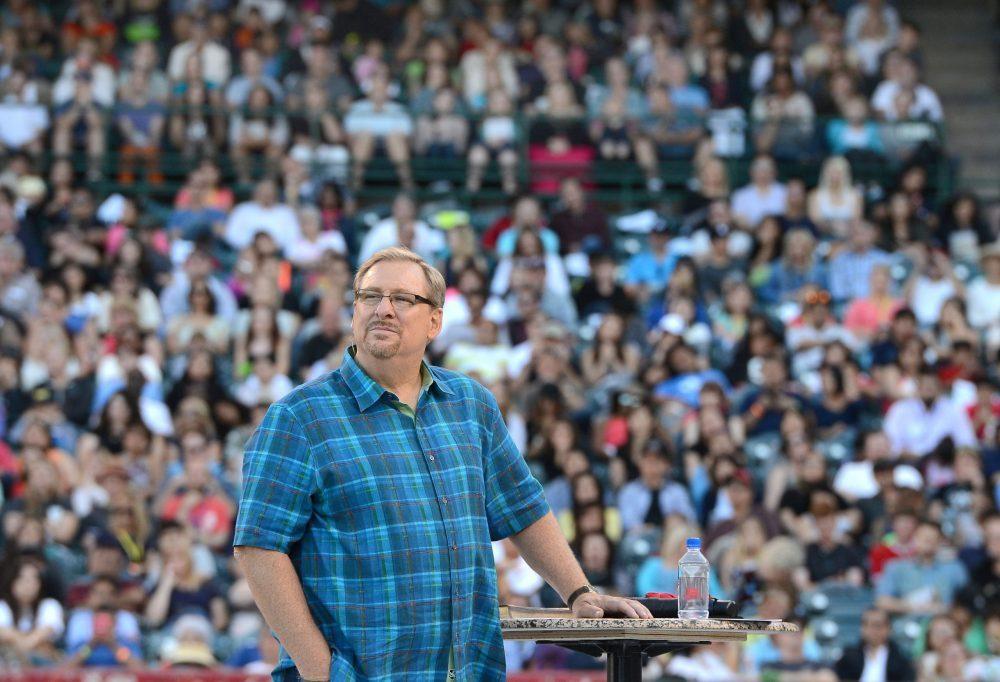 Rick Warren, pastor of Southern California's Saddleback Megachurch,
