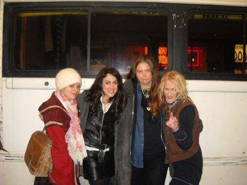 Lez Zeppelin: Megan Thomas, Steph Paynes, Leesa Squyres, Shannon Conley (from left).