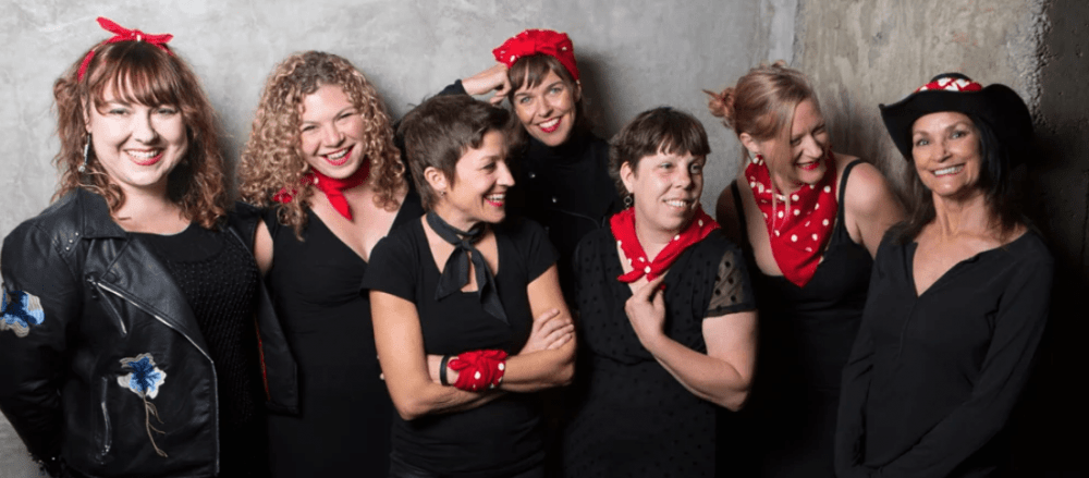 Ashleigh Flynn and the Riveters