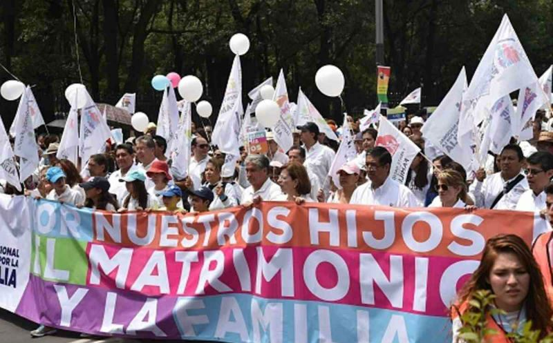 Thousands Rally Against Marriage Equality In Mexico