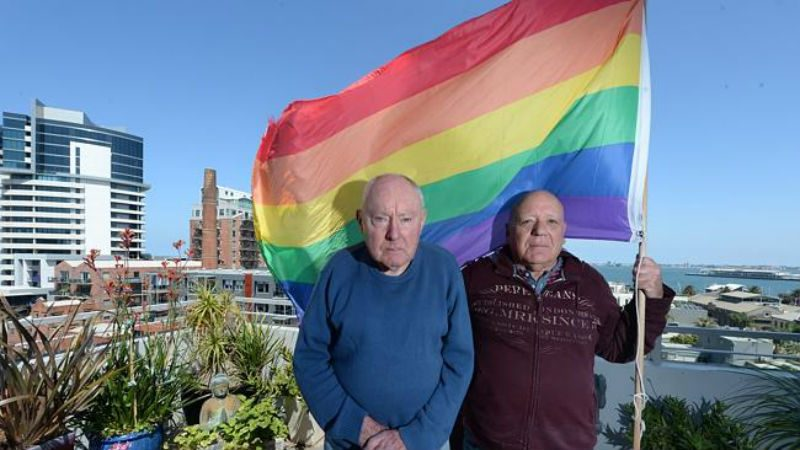 Petition Grows Against Homophobic Corporation Forcing Elderly Couple to Remove Rainbow Flag